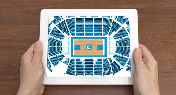 Custom Arena Map in Tableau