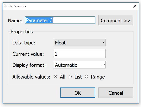 New Tableau Parameter