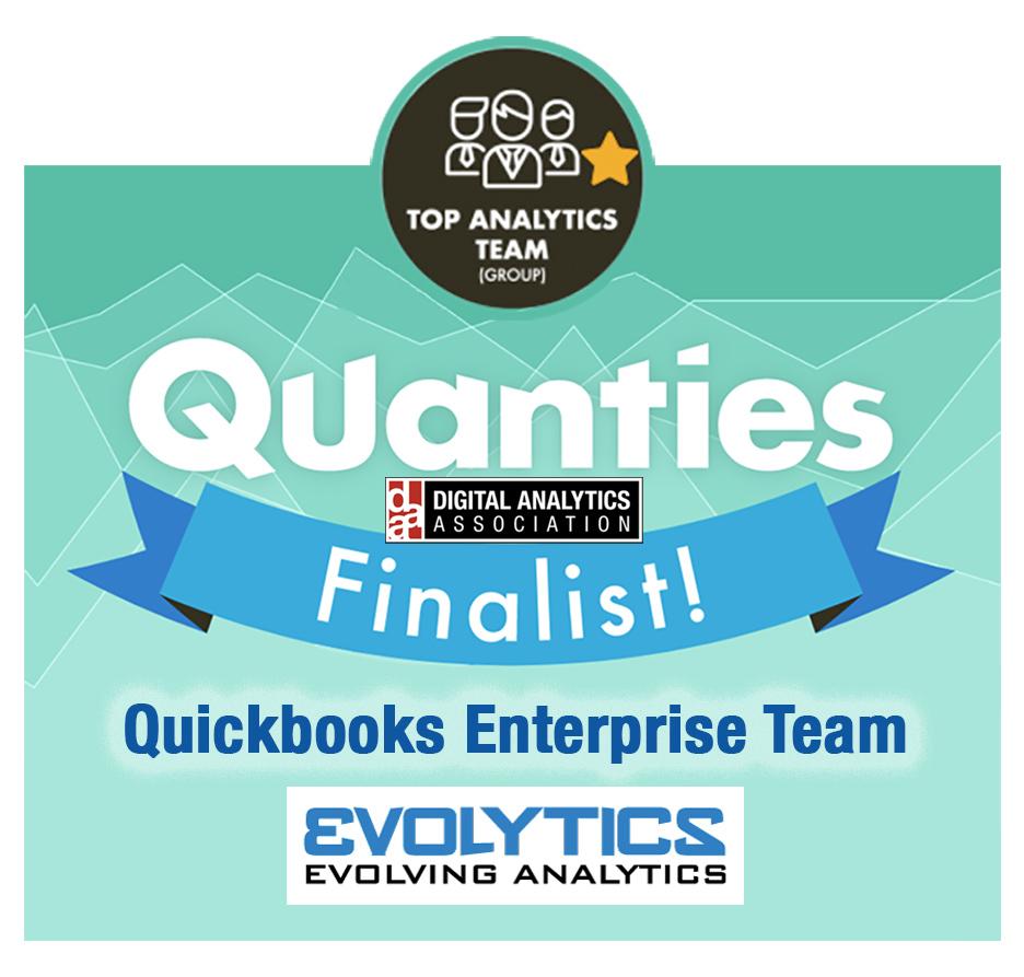 Evolytics COVID-19 A/B Testing Team Honored as Top Analytics Team Award Finalist
