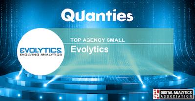 Evolytics Named Digital Analytics Association's 2020 Top Agency
