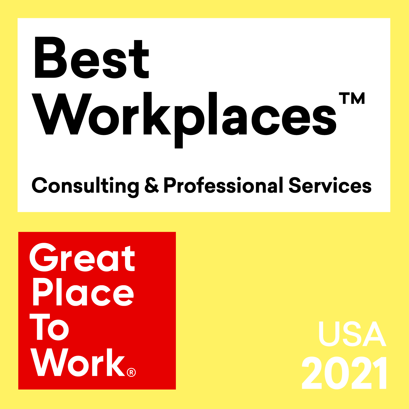 Great Place to Work® Names Evolytics One of the 2021 Best Workplaces in Consulting & Professional Services™, Ranking #30