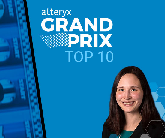 Evolytics' Kelsey Kincaid to Race in Alteryx Grand Prix