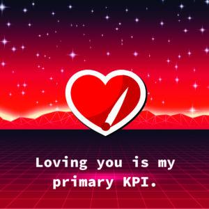 Nerdy Valentines KPIs