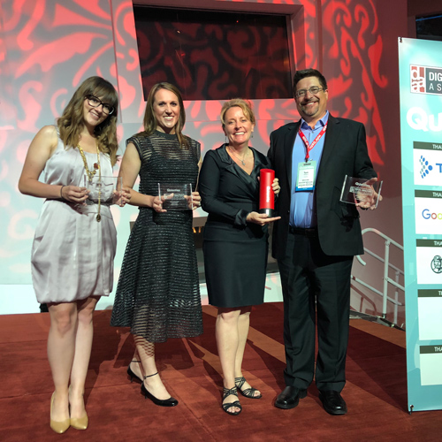 Evolytics Wins Top Analytics Agency Award at DAA Quanties