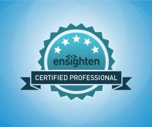 Evolytics earns Ensighten Certification