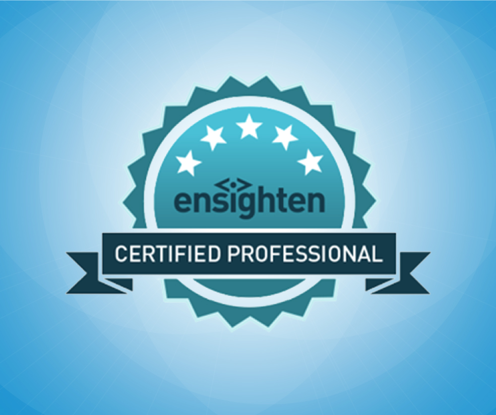Evolytics Team Strengthens TMS Capabilities with Ensighten Certifications