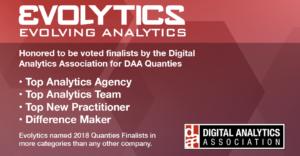 Evolytics DAA Quanties Finalists